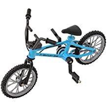 SupremeLife Finger Baby Monkey Bike, Mini Finger Bicycle, Metal Cool Toy, Creative Toy for Finger Monkey Collection, Best Christmas Gift (Sky Bkue)
