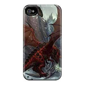 Excellent Hard Cell-phone Cases For Iphone 4/4s (Mjc6860PMfg) Unique Design Beautiful Rise Against Pictures