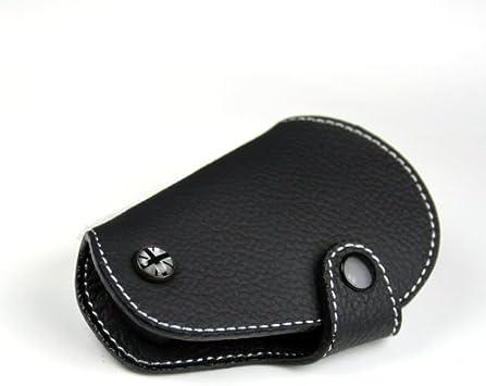 Blackjack GoBadges KC001 Black Leather Key Fob for Mini Cooper R55,R56,R57,R58,R59,R60,R61