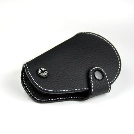 Amazon Com Black Leather Key Fob For Mini Cooper R55 R56 R57 R58