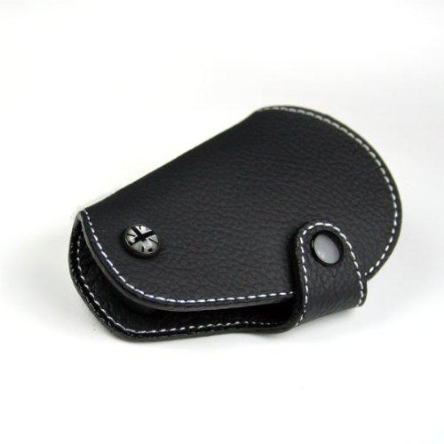 Blackjack Premium Leather - Black Leather Key Fob for Mini Cooper R55,R56,R57,R58,R59,R60,R61  - Blackjack