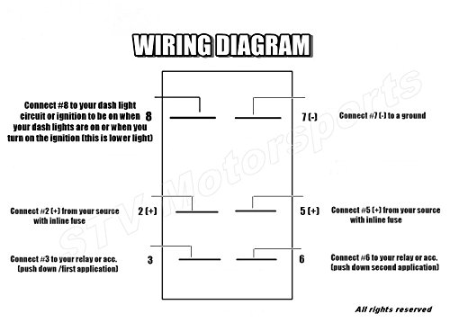 6 Pin Toggle Switch Diagram - Schema Wiring Diagrams