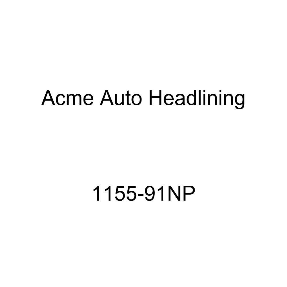 Acme Auto Headlining 1155-91NP Beige Replacement Headliner 1955 Buick Century 2 Door Riviera Hardtop 6 Bows