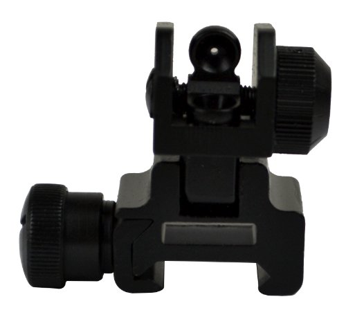 Sniper Flip-up Rear Sight with Dual Aiming Aperture (Sight Aperture Rear)