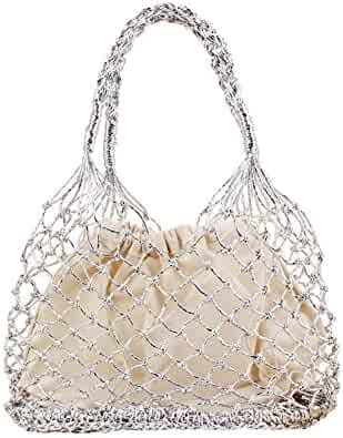 0ee4c9fac40d Shopping Last 30 days - Silvers - Straw - Shoulder Bags - Handbags ...