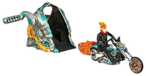 Hasbro Ghost Rider Turbo Scream Flame Cycle
