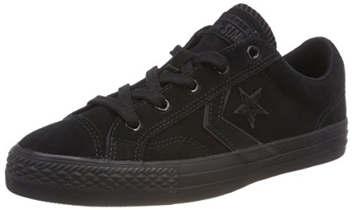 Converse Chaussures Player Ox black Fitness black Mixte black Schwarz De Suede Adulte Lifestyle Star rwaRqrX