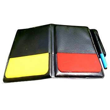 Soccer Football Referee Case with Red Card and Yellow Card - 5