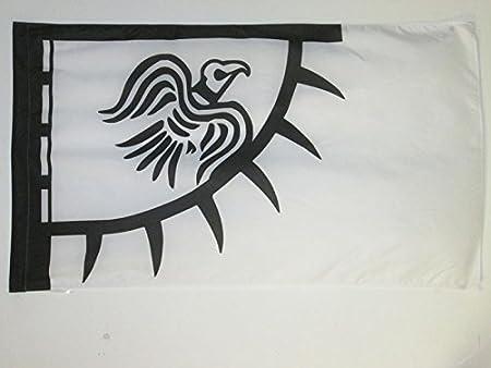 flag FLAGGE WIKINGER RAVEN 150x90cm RABEN FAHNE 90 x 150 cm scheide für Mast