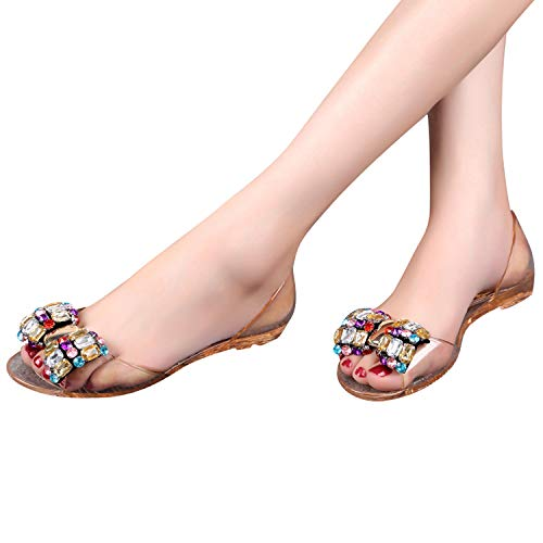 Women Sandals Summer Style Bling Bowtie Peep Toe