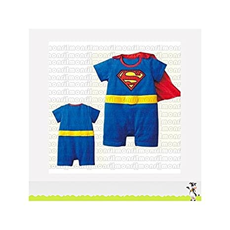 Disfraz de Superman para bebé, disponible en tallas 6/9 Meses, 9 ...