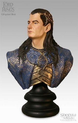 Gil-Galad Bust - Sideshow Collectibles - Lord of the Rings - 1:4 Scale - Polystone - New - Collectible