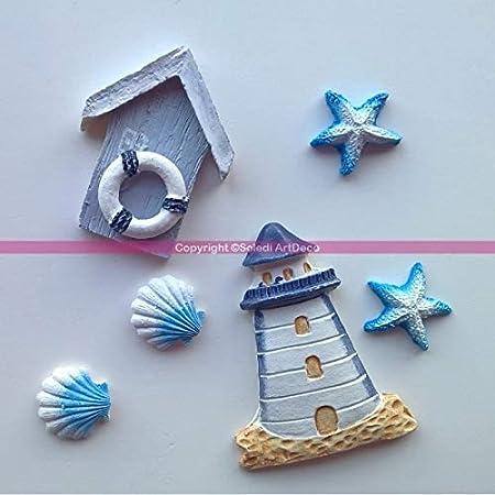 Cadre photo étoile de mer Coquillage-Plage Décor Maison Mariage Table Décoration