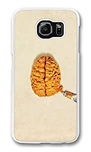 Brain Tube Custom Samsung S6 Case Cover Polycarbonate Transparent by mcsharksby Maris's Diary