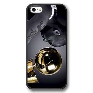 Onelee(TM) - Customized Personalized Black Hard Plastic iPhone 5/5S Case, NBA Superstar Lakers Kobe Bryant iPhone 5/5S Case, Only Fit iPhone 5/5S Case