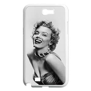 C-EUR Diy Phone Case Marilyn Monroe Pattern Hard Case For Samsung Galaxy Note 2 N7100 by runtopwell