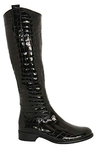 Black Boot Gabor 648 Leg Slim S Brook 91 Croc Long wv88q5CxT