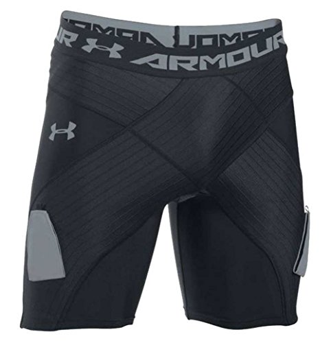 Under Armour UA Men's Hockey Coreshort Pro with Cup 1284735 (Black, XS)