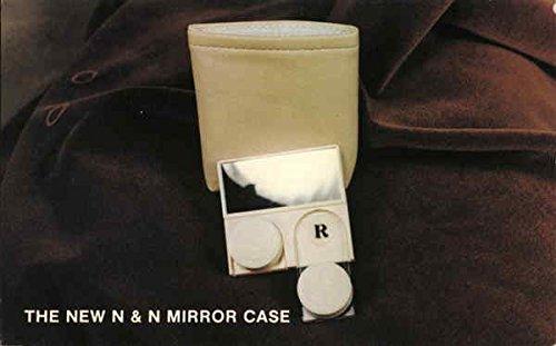 Vintage Advertising Postcard: The New N&N Mirror Case Advertising