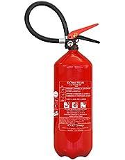 ABC extintor de polvo de 6 kg con soporte de montaje