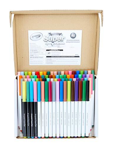 Crayola 80 Count SuperTips