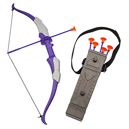 - Marvel Hawkeye Deluxe Quiver, Bow and Arrow Set Multi
