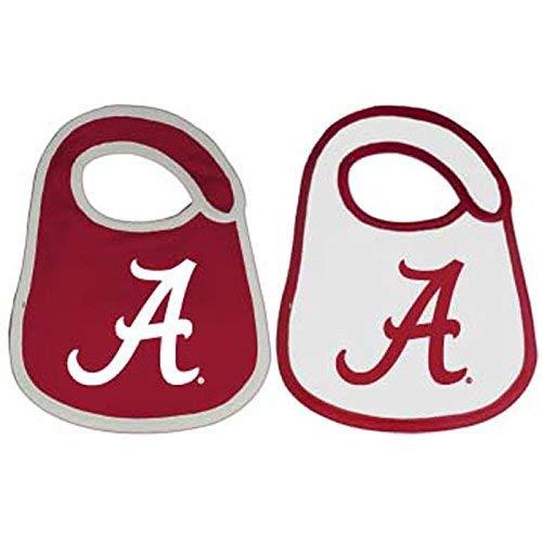 Alabama Crimson Tide Team Logo Baby Bibs - 2 -