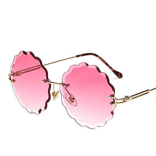 HAIHAI De De 3 Gafas Sol Sol Moda Gafas Marco Sin Gafas Sol 5 De De qrqw54C