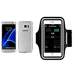 Galaxy S7 Edge Clear Case, ibarbe Slim Fit Heavy Duty Protection Scratch Resistant TPU Bumper Case Cover for Samsung Galaxy S7 edge not for S7