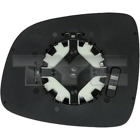 TYC Original Espejo Cristal, espejo retrovisor izquierdo 335 - 0018 - 1 Suzuki SX4 Fiat: Amazon.es: Coche y moto