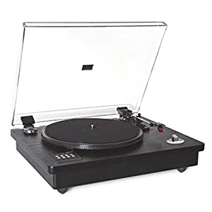 Plato Giradiscos Vinilo con Altavoces Integrados Y USB Fonestar Vinyl-22Amp