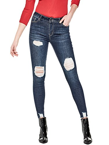 G by GUESS Women's Stasi Destroyed Skinny Jeans