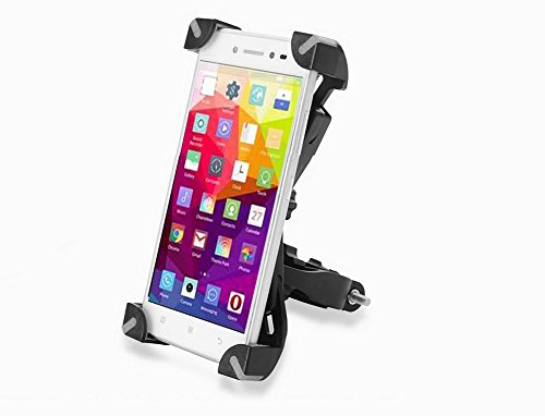 Jinjiang cell phone mount for bike,360 degree free rotation with Rubber Strap,Cell Phone Holder For iPhone 7 6s 6 5s 5c 5, Android Smart phones.