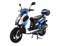 BRAND New Model Powermax from TAO TAO . This is a 4 stroke Fully Automatic Street Legal scooter. It has a Automatic CVT Transmission with a GY6 Engine so changes gears automatically. Full size for 2 adults. * ASSEMBLY REQUIRED