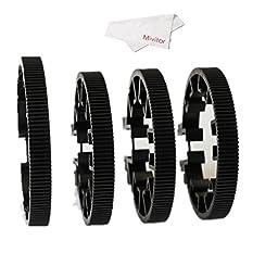 Mivitar Gondor GD-GR-04 Gear Ring Follow Focus Ring Gear (Dia 60mm,70mm,80mm,90mm) For DSLR Camcorder Camera