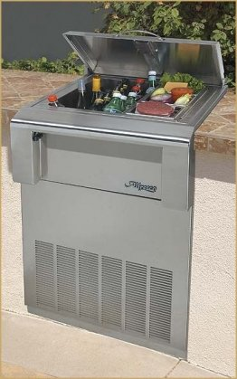 Cart Alfresco - Alfresco ARDIC 30 In Freestanding Cart Drop-In Refrigerator