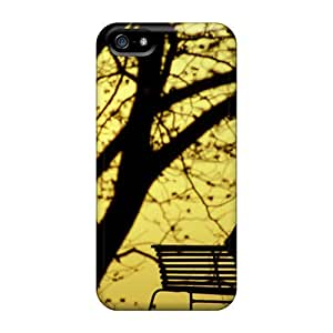 Flexible Tpu Back Case Cover For Iphone 5/5s - Twilight In The Park