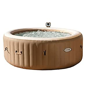 Cheap Hot Tubs >> Intex 77in Purespa Portable Bubble Massage Spa Set