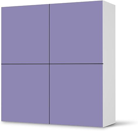 Creatisto Ikea Besta Meubles Autocollants Carres 4 Portes Armoire Violet 3 Design Autocollant De Protection Autocollant Amazon Fr Cuisine Maison