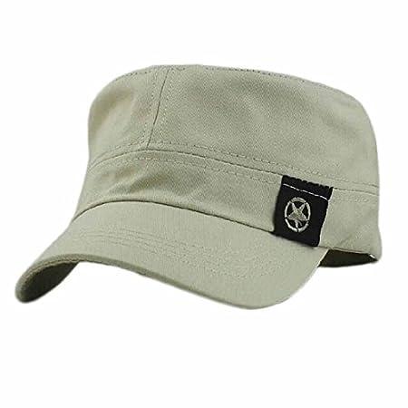 Bokeley - Gorra de béisbol de algodón, Estilo Militar: Amazon.es ...