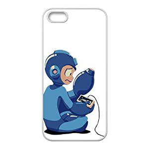 Blue Rockman Cell Phone Case for iPhone 5S