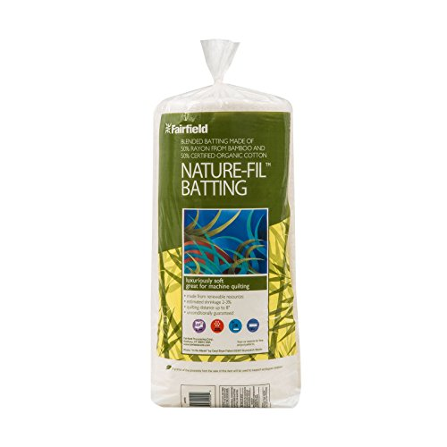 - Fairfield Nature-Fil Bamboo Blend Batting, 72