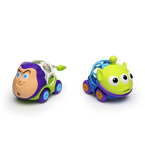Disney Baby Go Grippers Toy Story Push Cars from Oball, Ages 12 Months + -