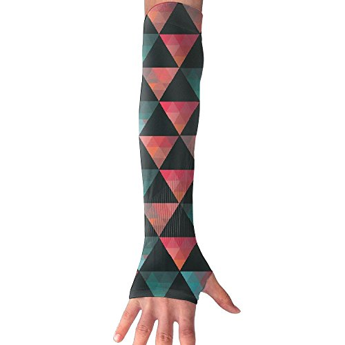 Unisex Retro Triangle Sense Ice Outdoor Travel Arm Warmer Long Sleeves Glove by Suining (Image #9)