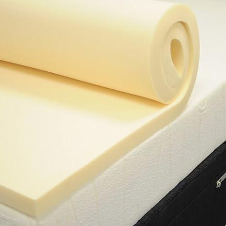 Foam2Go Colchón de Espuma con Efecto Memoria Topper para Camping, Caravana, etc. 72