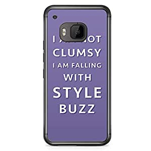 Loud Universe Buzz Clumsy HTC M9 Case Toy Story HTC M9 Cover with Transparent Edges