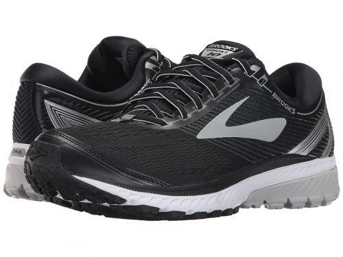 Brooks(ブルックス) メンズ 男性用 シューズ 靴 スニーカー 運動靴 Ghost 10 - Black/Silver/Ebony [並行輸入品] B07C8FWXG8