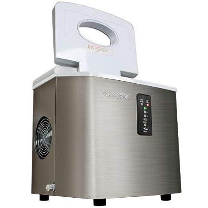 Black EdgeStar IP210BL Portable Countertop Ice Maker