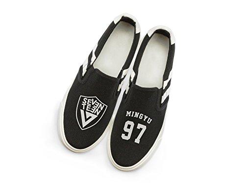 Fanstown Dix-sept Kpop Baskets Chaussures Fanshion Memeber Hiphop Style Ventilateur Soutien Avec Lomo Carte Mingyu