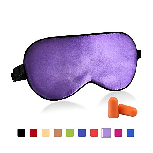 Silk Eye Mask With Lavender - 2